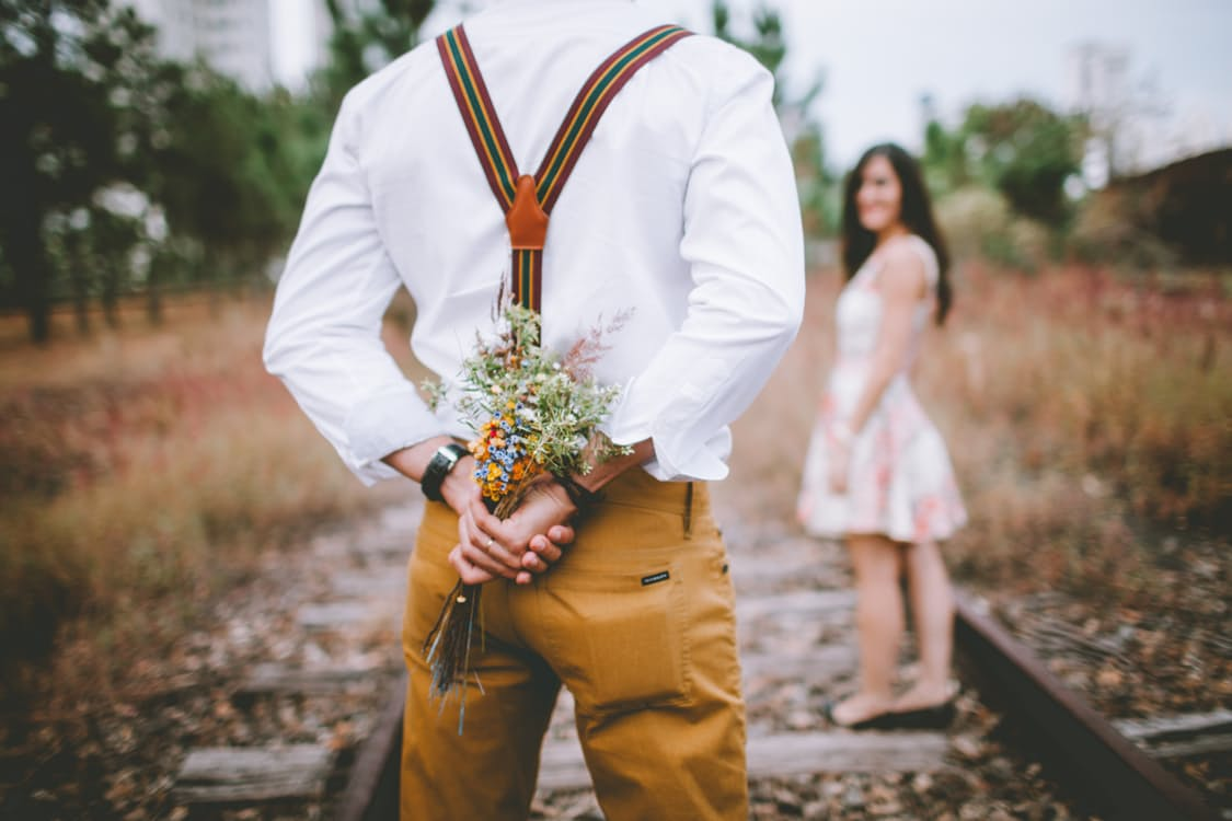 bouquet groom
